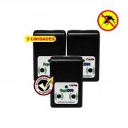 Repelente Eletrônico Repel DUO repele pernilongos e mosquitos  - 3 unidades
