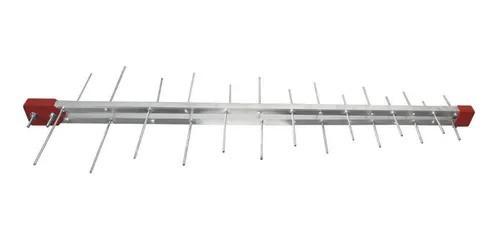20 Kit Antena Digital 4k Log 28 Externa Cabo 15m E Mastro
