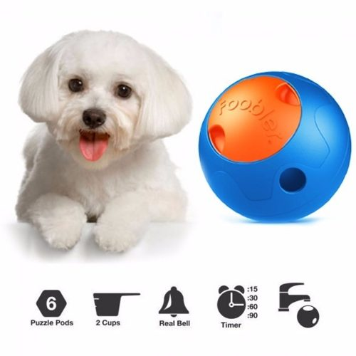 Brinquedo para Cães Foobler Exercícios E Redução De Peso Azul e Laranja