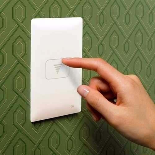 Interruptor Eletrônico One Touch Dimmer 1 Botão Led Noturno