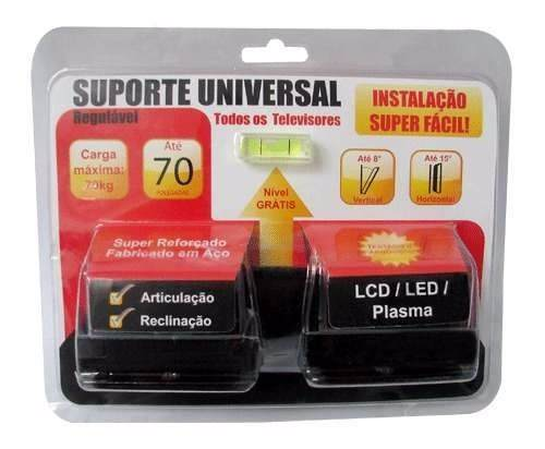Antena Log  Digital Com Cabo De 20m E Suporte para TV Universal Capte