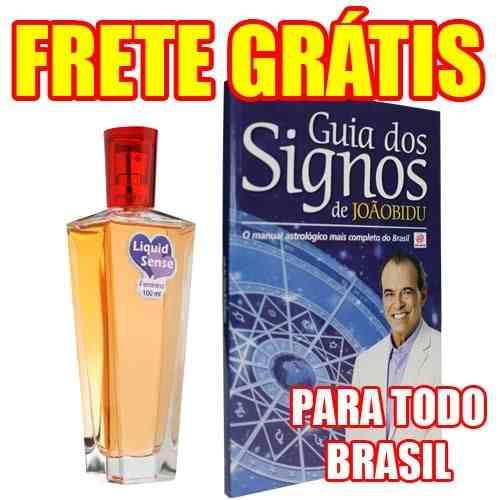 Perfume Liquid Sense Feminino + Livro Guia Dos Signos