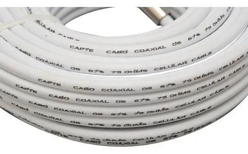 3 Antena Digital Externa 4k Log 28 Cabo 10m Capte