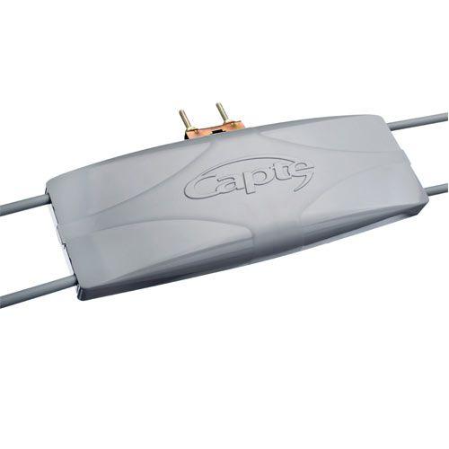 3 Antena Digital Externa Capte Estrada P/ Caminhão, Motorhome, Ônibus, Barco e Vans 12dB