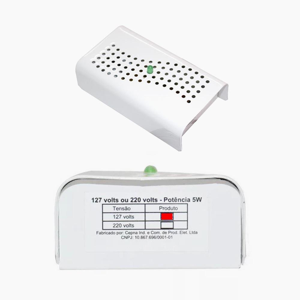 3 Anti mofo Eletrônico Anti Ácaro e Fungos Branco 110v