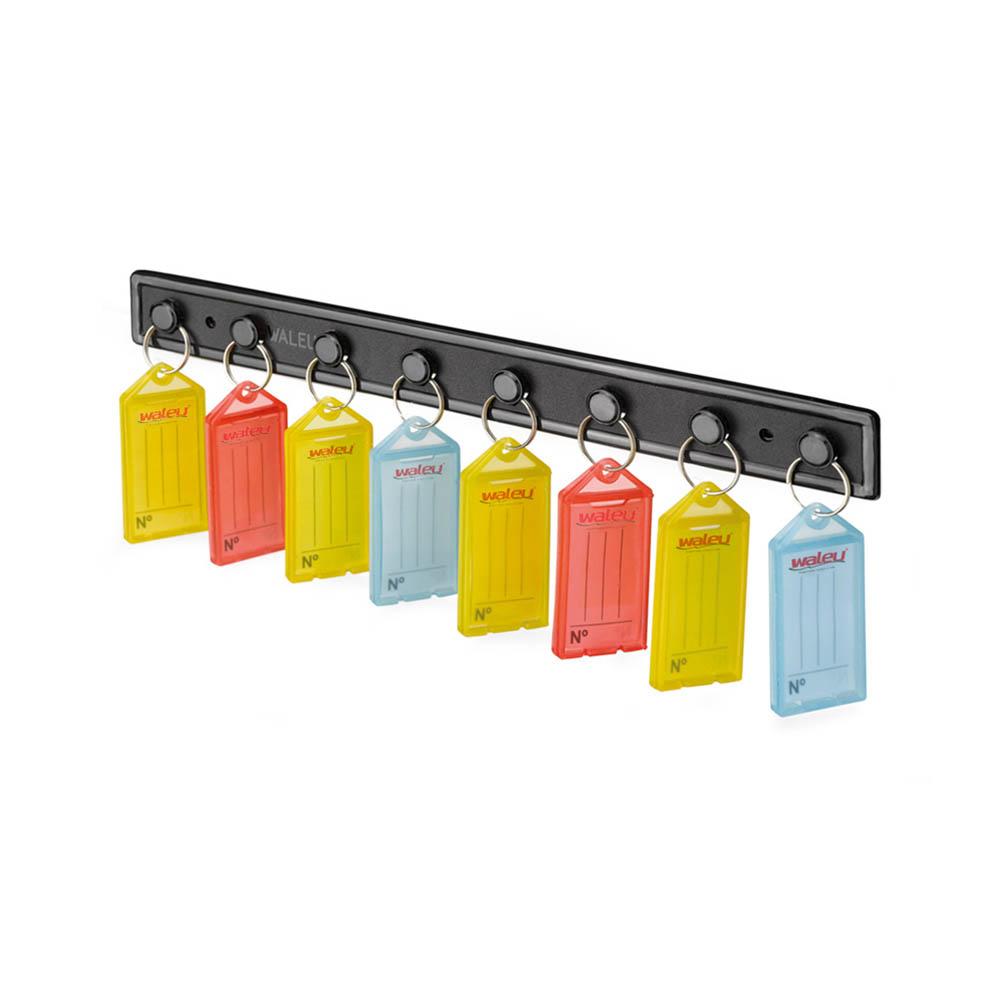 400 Chaveiros Organizadores Chaves Etiquetas Coloridas 4cx