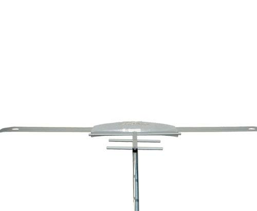 Antena Digital Externa Amplificada K7 Turbo VHF UHF Digital - K7 Turbo com Extensor Digital Alcance 70 Km - Capte