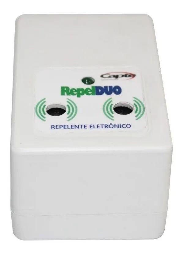 4 Repelente Eletronico Repel DUO repele pernilongos e mosquitos - Branco