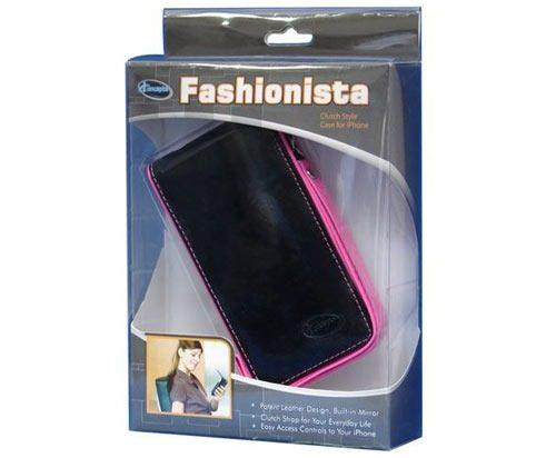 Capa Protetora Case Couro P/ celular - Rosa, Flip C/ Espelho