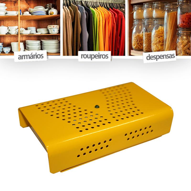 4 Desumidificador Antimofo Eletrônico Anti Ácaro E Fungos