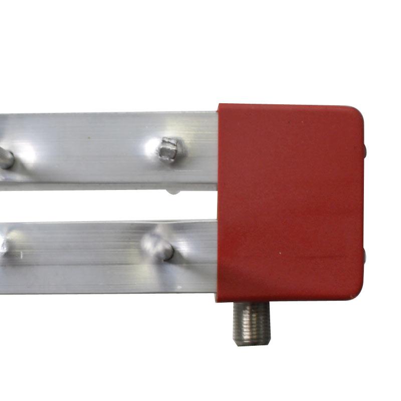 Antena Digital Log Periódica 28 Elementos Digital UHF e Mastro Articulável 50 cm Capte