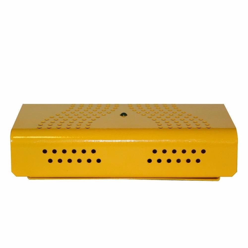 kit Anti-Mofo Eletrônicos Repel Mofo 2 unidades, Anti-Ácaro e Fungos, Desumidificador 110v Amarelo