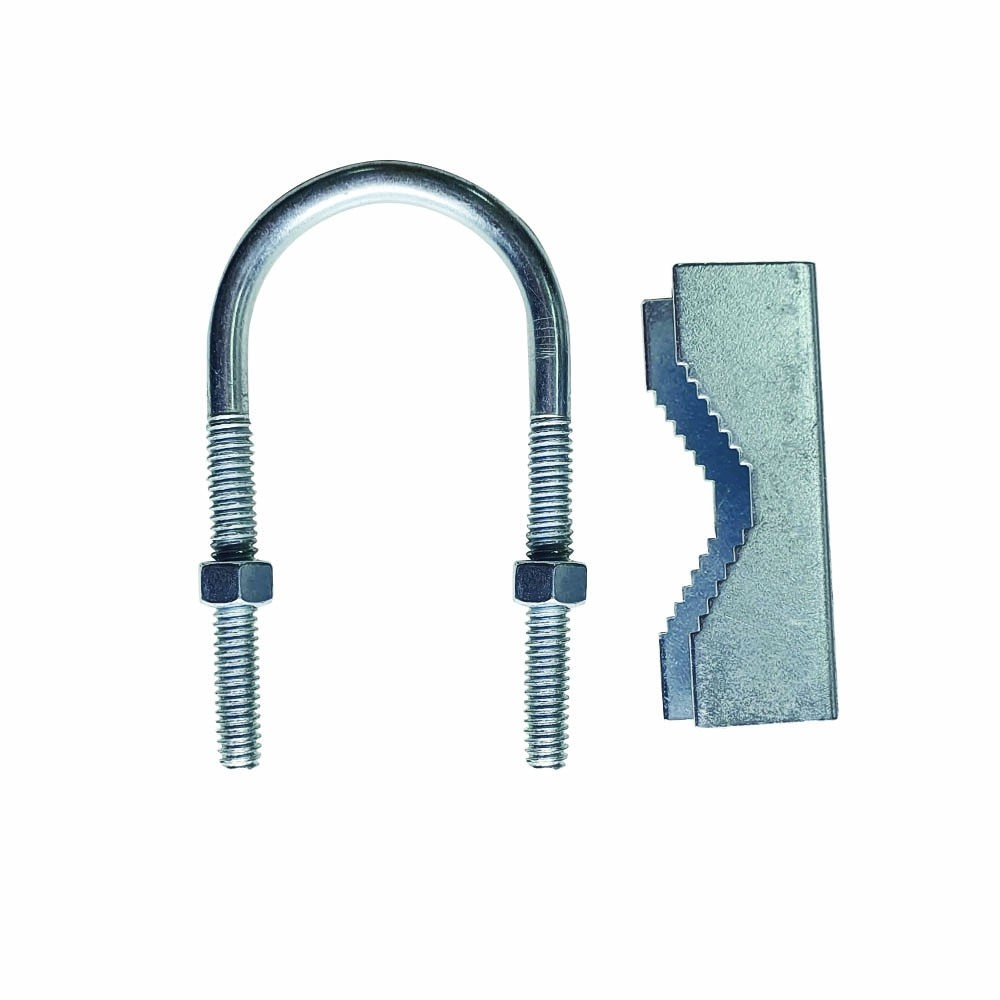 Abraçadeira Tipo U Roscada Fixação De Antena 10 peças