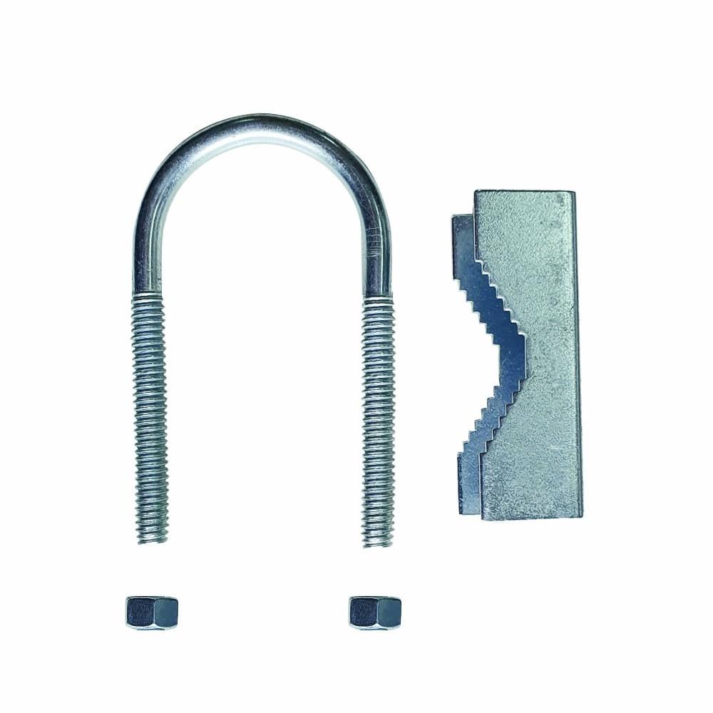Abraçadeiras Tipo U Roscada Fixação De Antena 120 Unidades