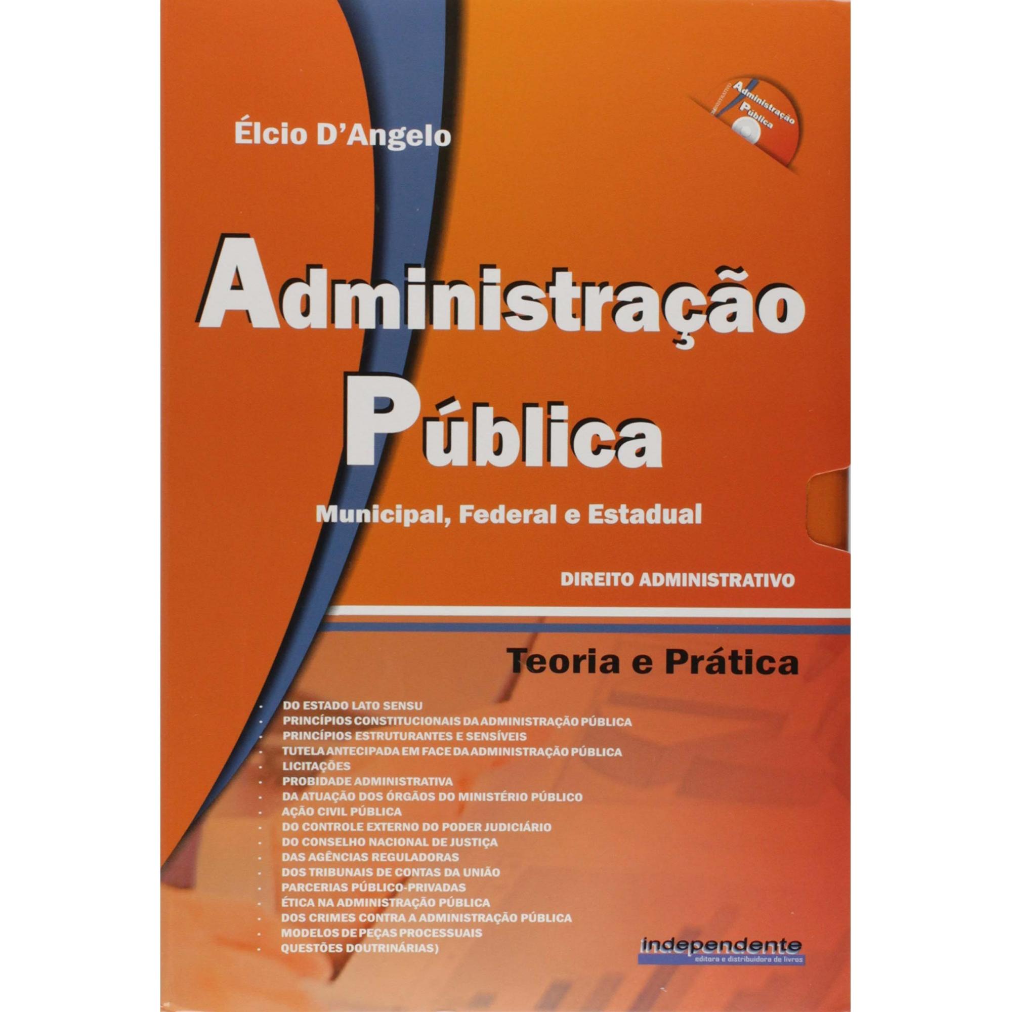Administração Pública - Município, Federal e Estadual - 2010