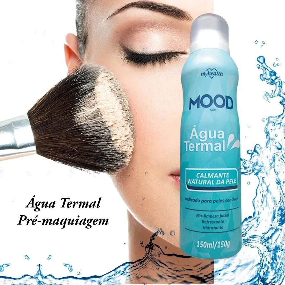 Água Termal para todo tipo de pele  Maquiagem água termal 2 unidades