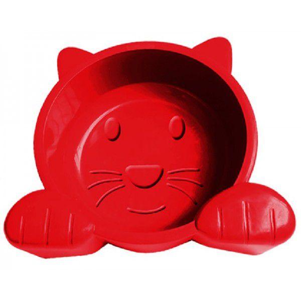 Alimentador Comedouro para Gatos Cat Face 600 ml - Plástico
