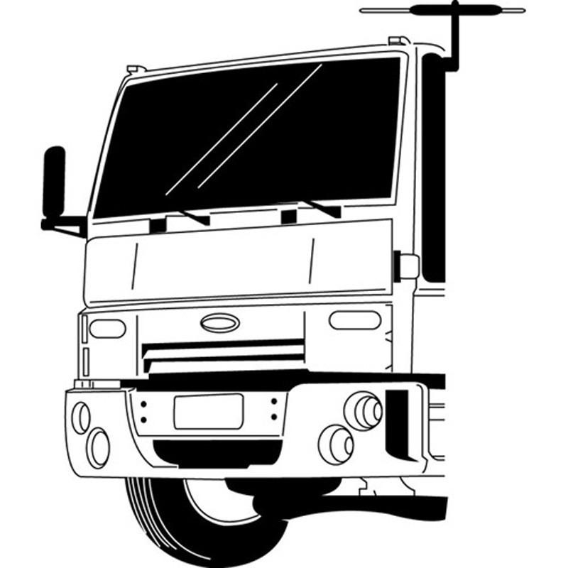Antena Digital Estrada Caminhão Motorhome Ônibus - Conversor
