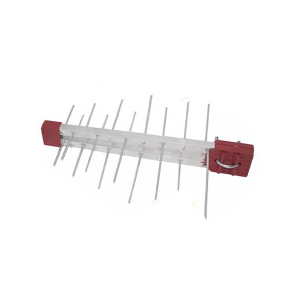 Antena Digital Externa 4K Capte Log 20 Elementos + Conversor  Digital + Cabo 10 metros