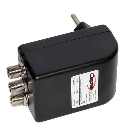 Antena Digital Externa Amplificada K7 Mastro Articulável 50 cm Cabo Coaxial 12mts - Capte