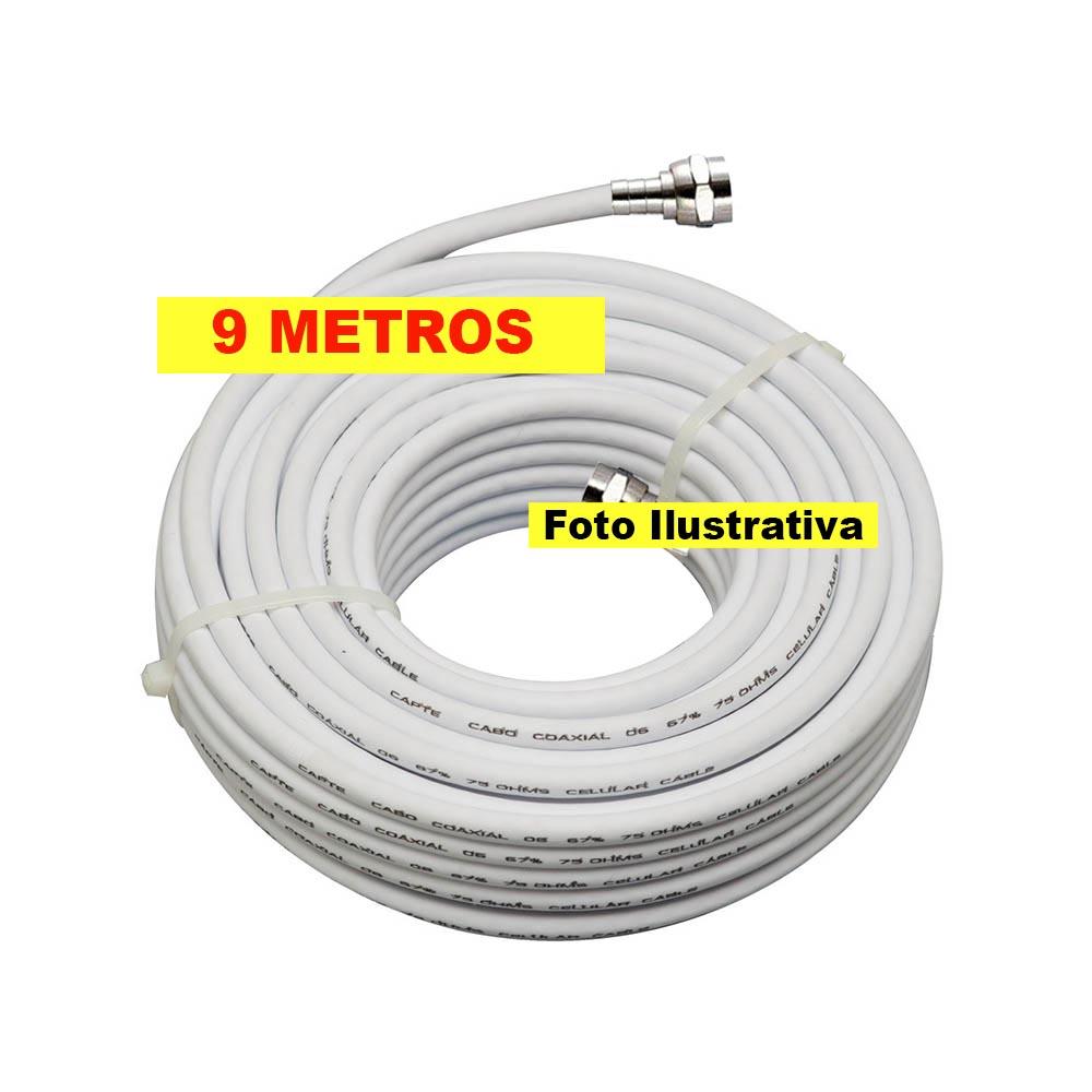 ANTENA LOG 16 ELEMENTOS E CABO DE 9 METROS