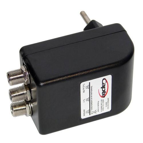 Antena Digital Externa Amplificada Diamante  4k VHF UHF Digital FM - Capte