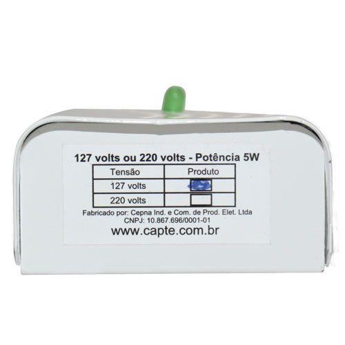AntiMofo Eletrônico R14 110V 1 unid. Branco Repel Mofo, Anti-Ácaro e Fungos, Desumidificador Capte