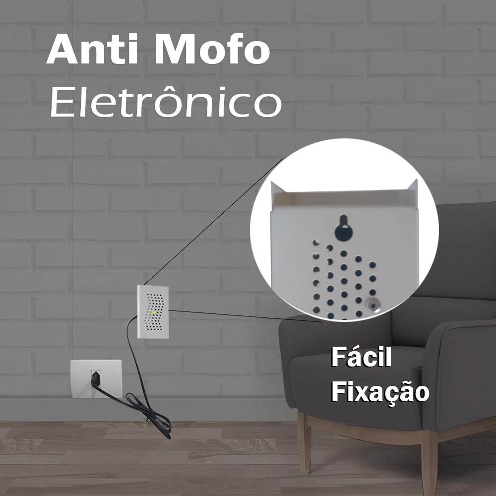 Aparelho Anti Mofo Elétrico Eletrônico 110 ácaro fungos bolor 4 Unidades