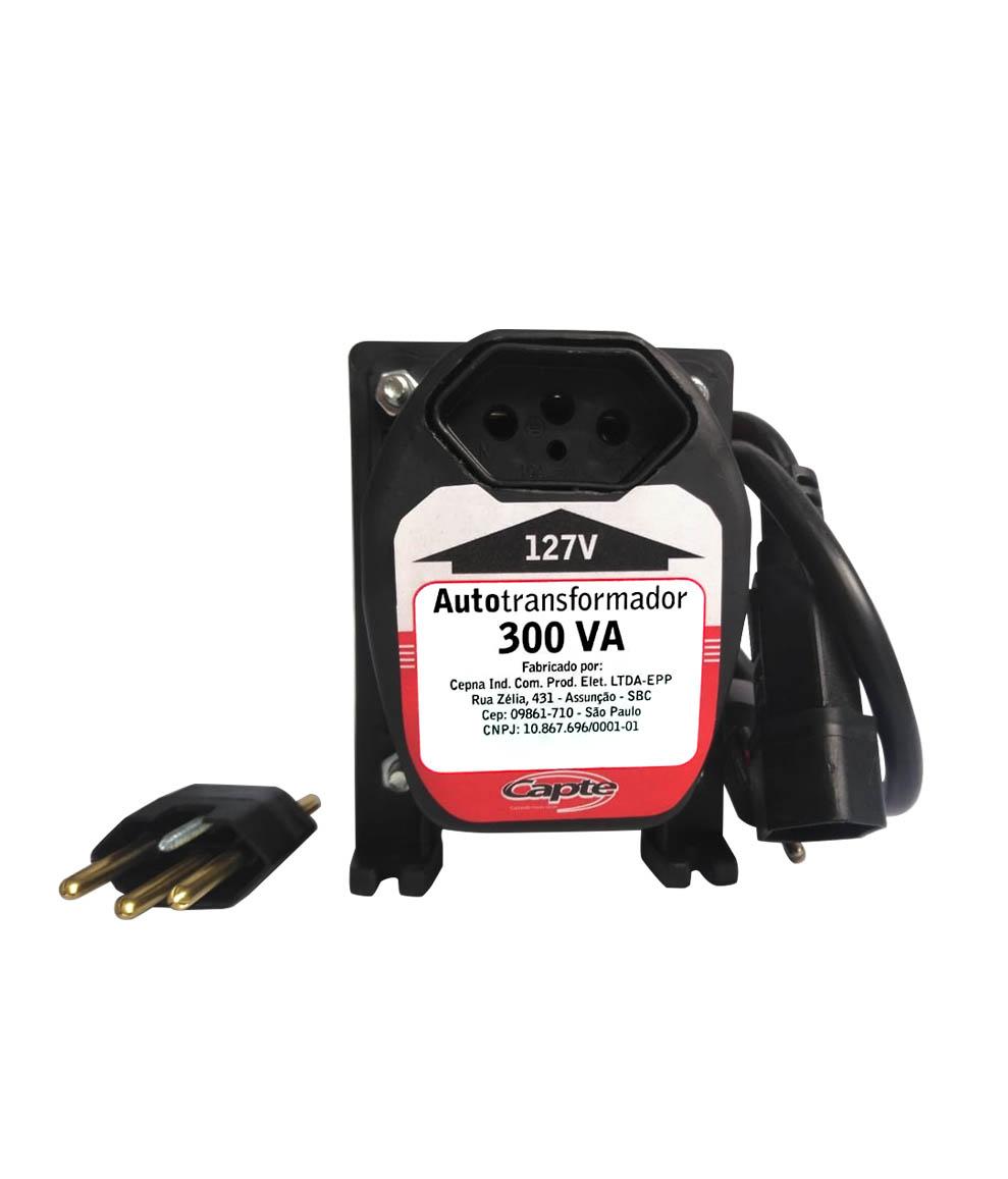 Auto transformador 300VA / 210 W bivolt 110V/220V Tripolar Capte