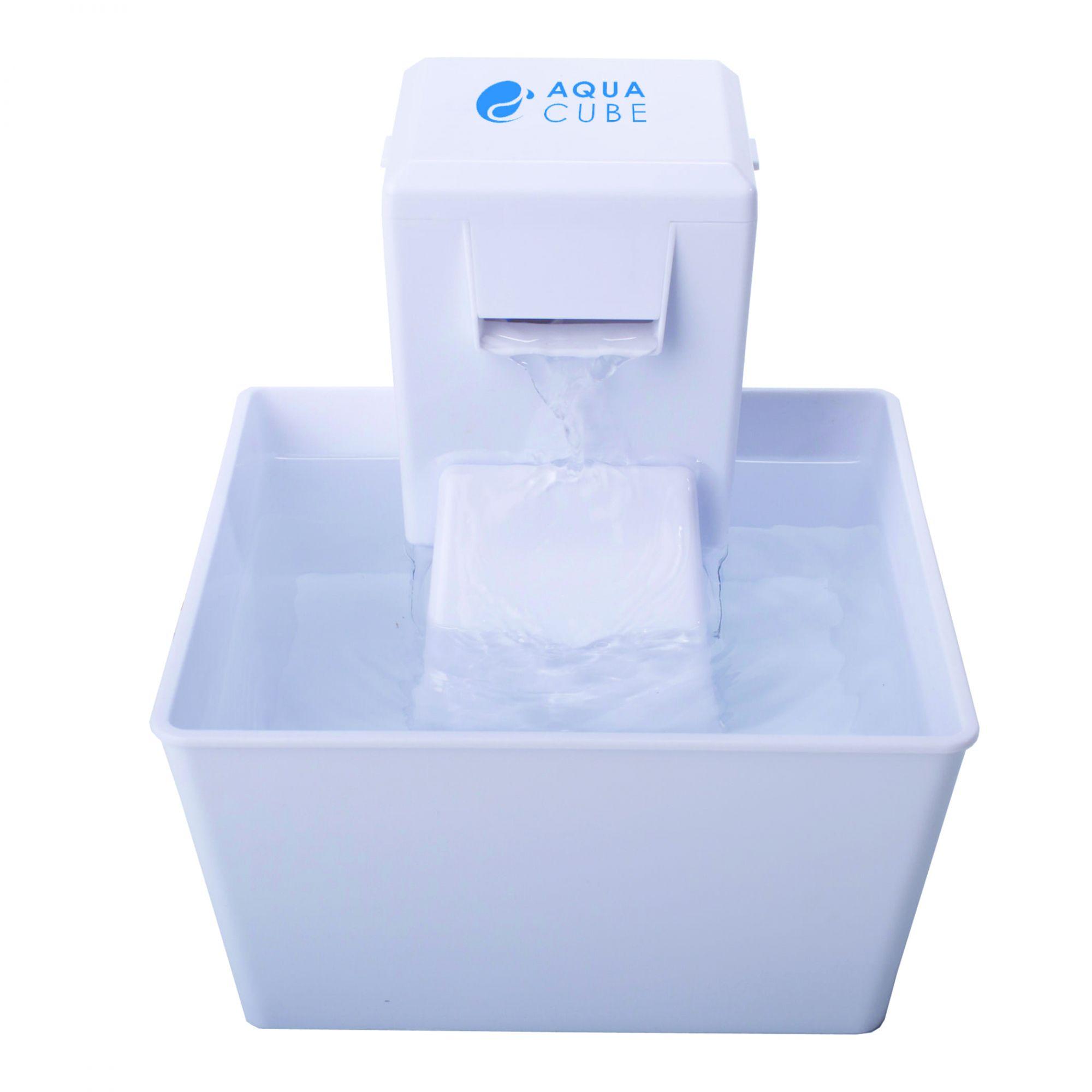 Bebedouro de água Aqua Fountain Cube 1,2L