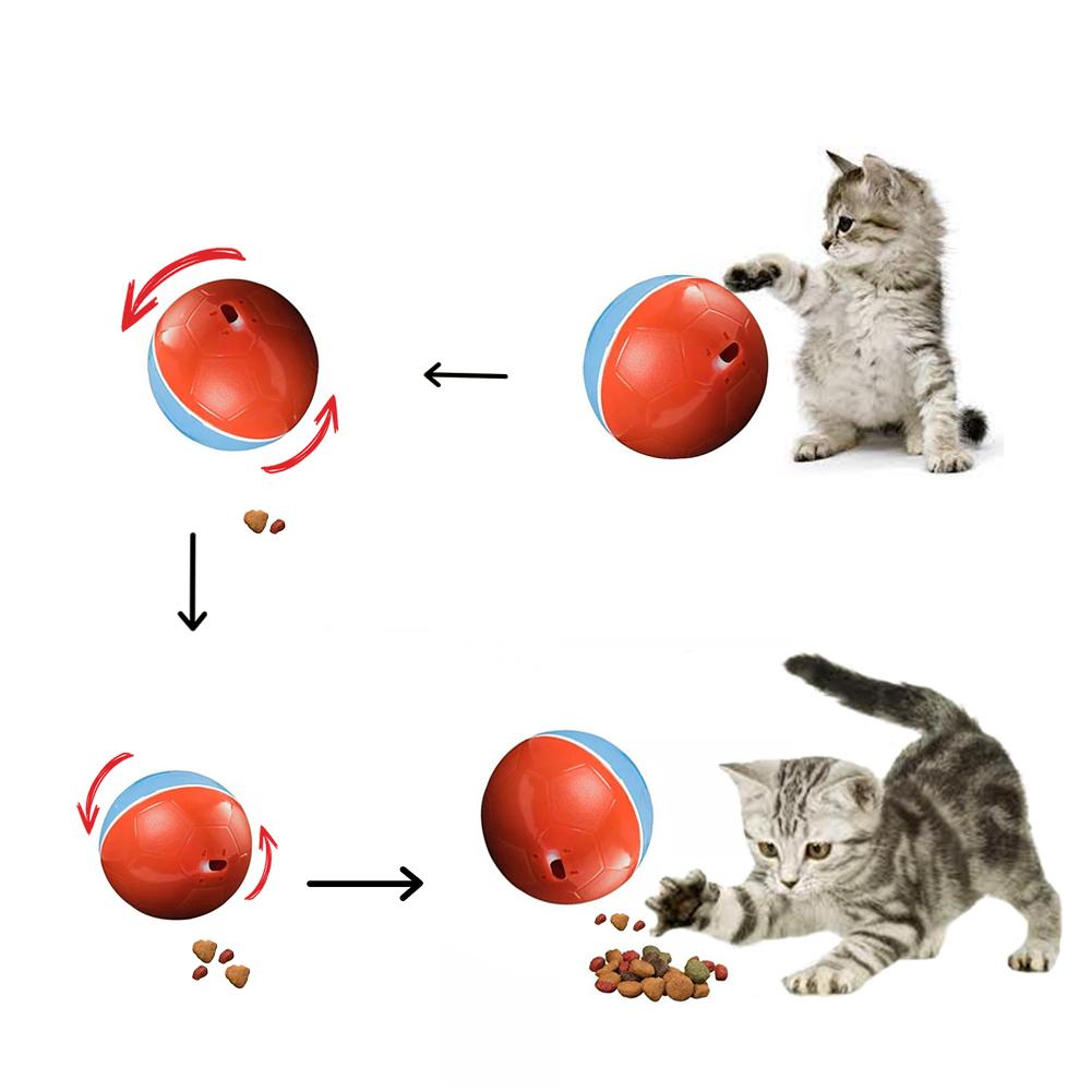 Bola Alimentador e Brinquedo estimulante Crazy Ball
