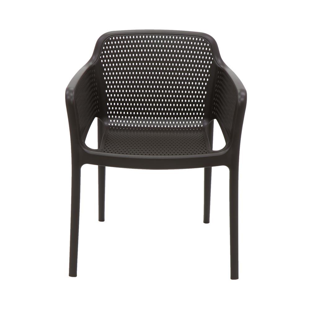Cadeira Tramontina Gabriela em Polipropileno e Fibra de Vidro Marron