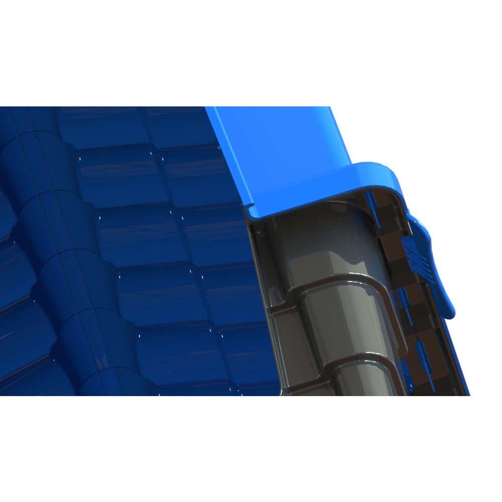 Casinha para cachorro Casa Eco Colors Dog House Evo Grande N4 Cor Azul