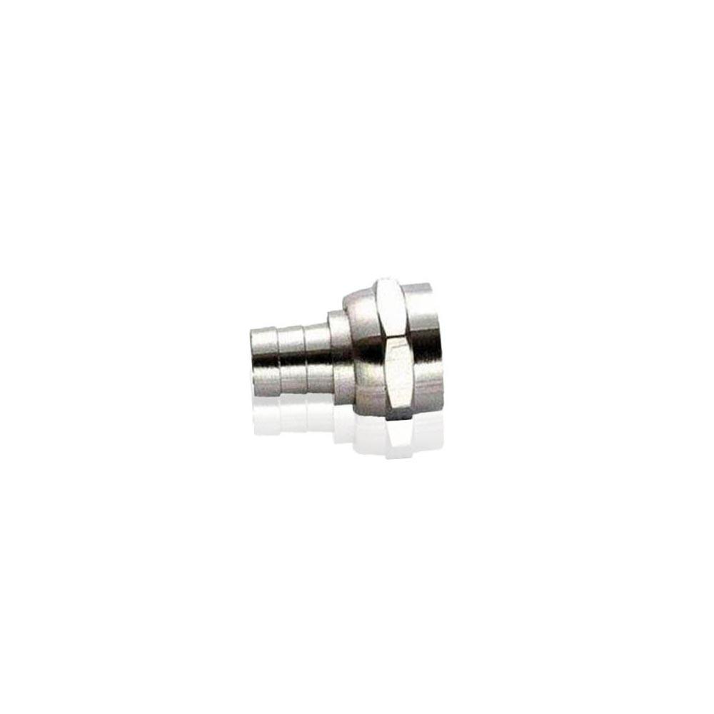 Conector RG59 F com anel 7 pacotes com 100 pcs