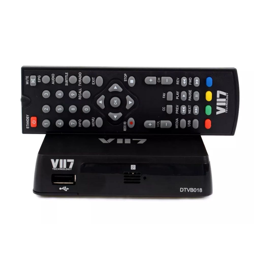 Conversor Digital VII7 HDTV Full HD cabo HDMI
