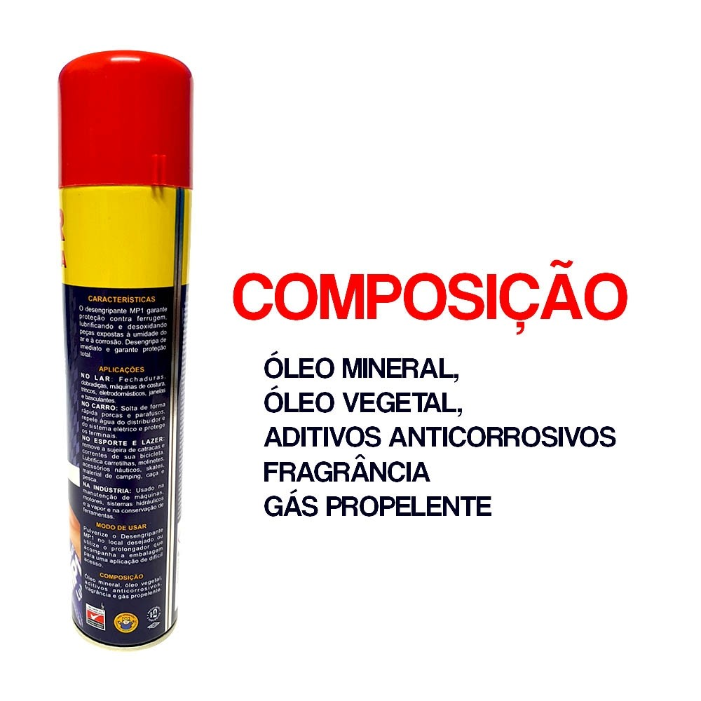 Desengripante lub proteção e lubrificação desengripar