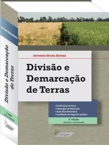 Livro Divisão e Demarcação De Terras