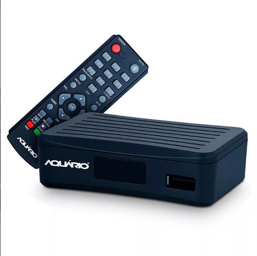 DTV-4000 Conversor e Gravador Digital Mini de TV Full HD