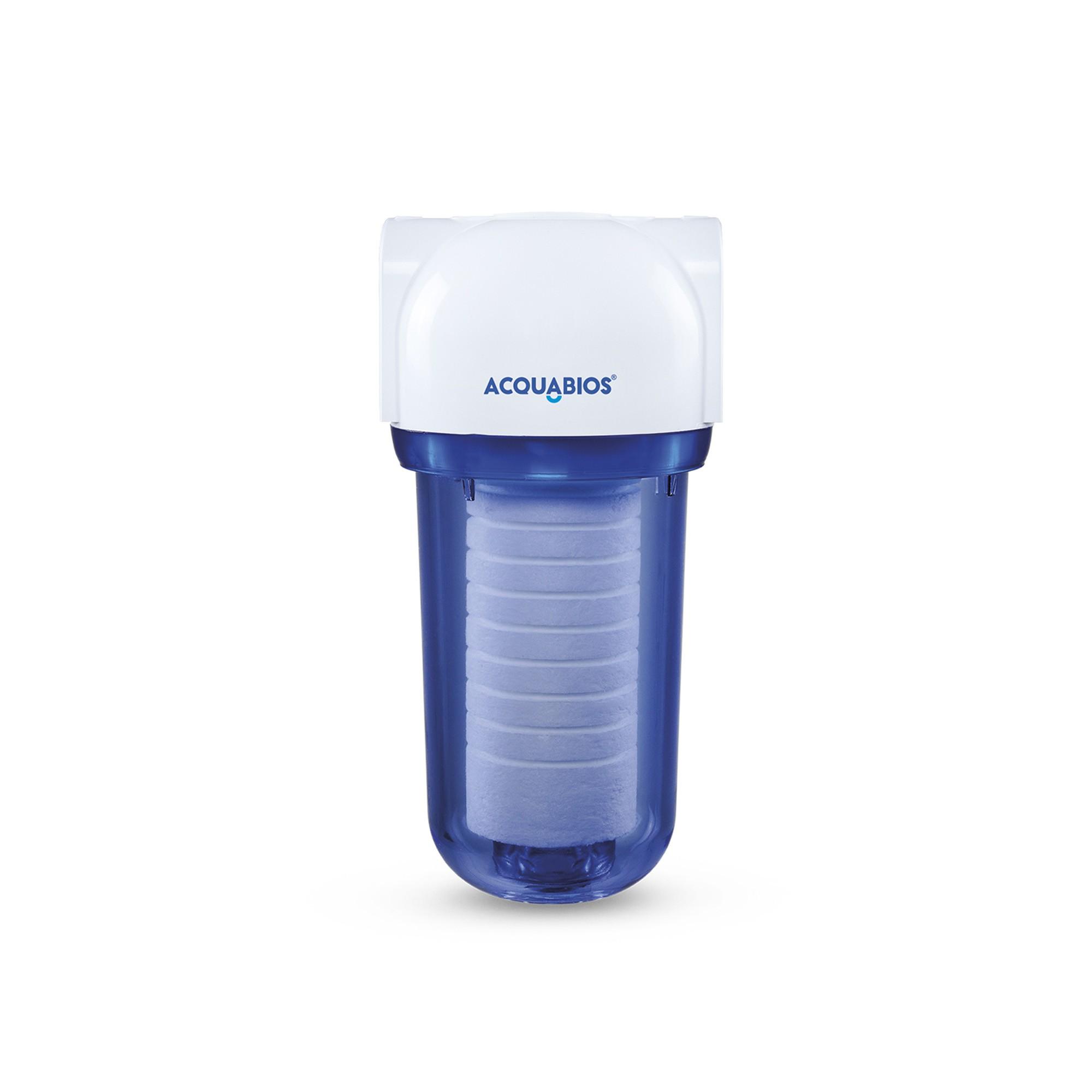 Filtro Acqua 200 Transparente Refil PP para Maquina de Lavar, roupas mais limpas