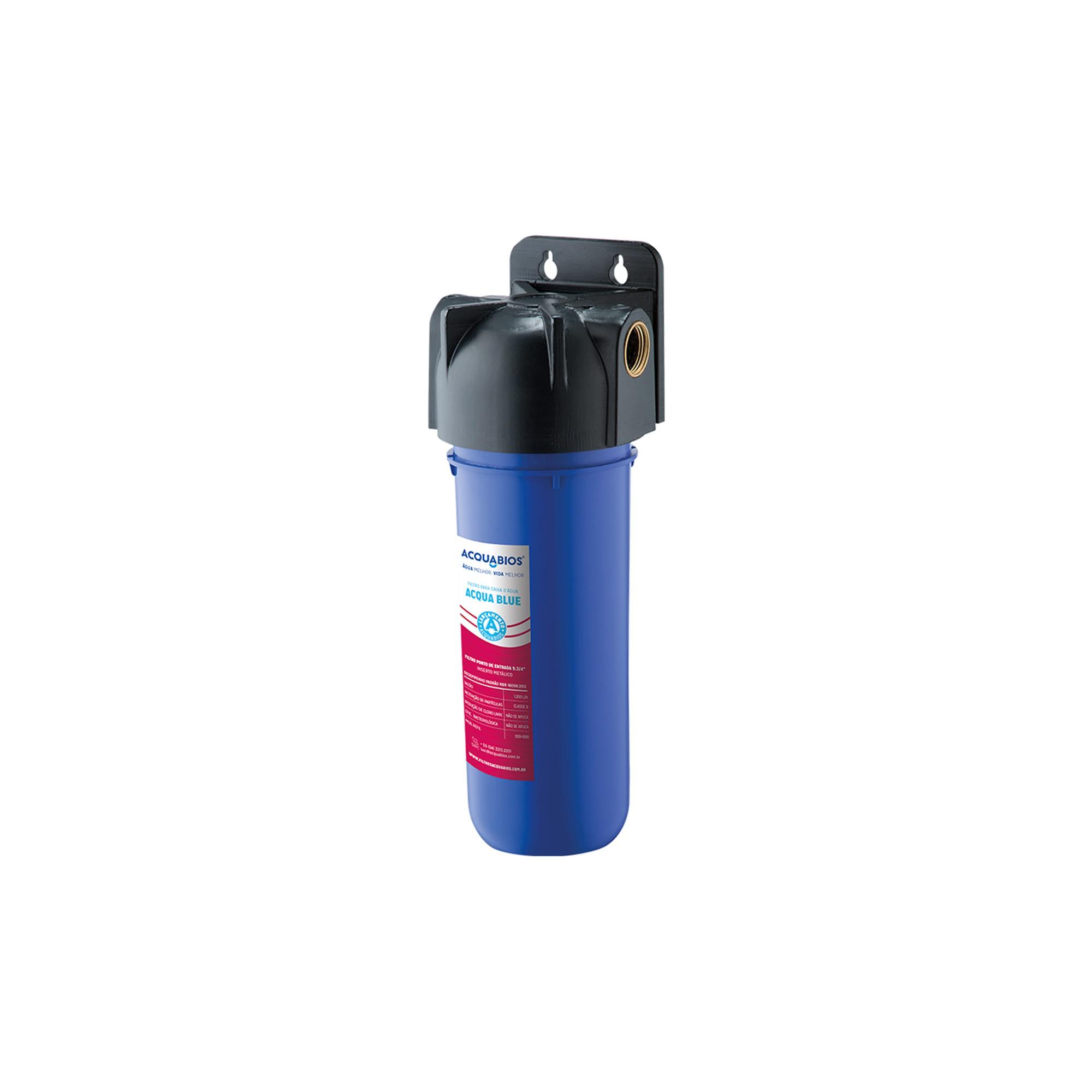 Filtro para Caixa D'água Acqua Blue