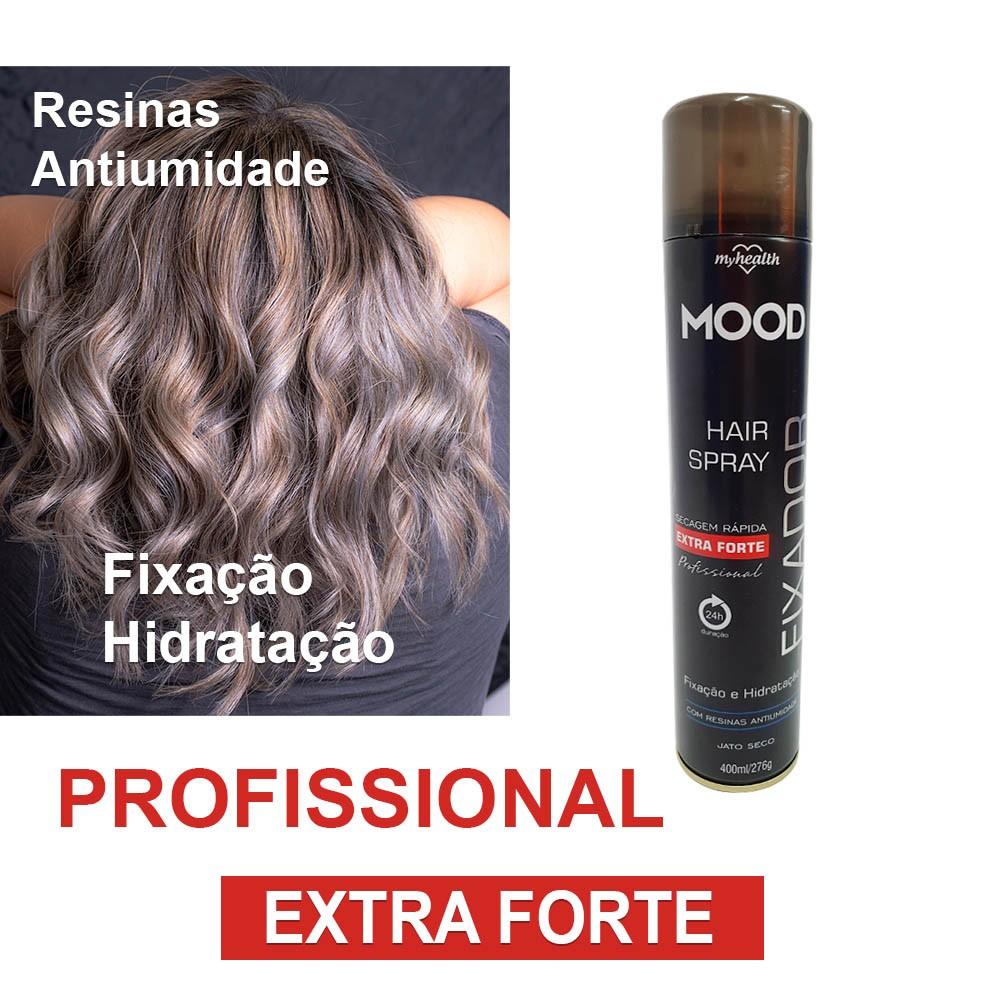 Fixador cabelo extra forte Laque secagem Rapida Hair