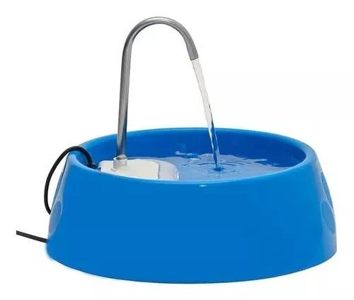 Fonte Bebedouro E Purificador Aqua Mini Bivolt - Azul