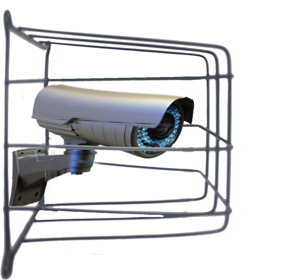 Grade de Proteção de Câmeras de Segurança Capte Protetor - 10 Unidades