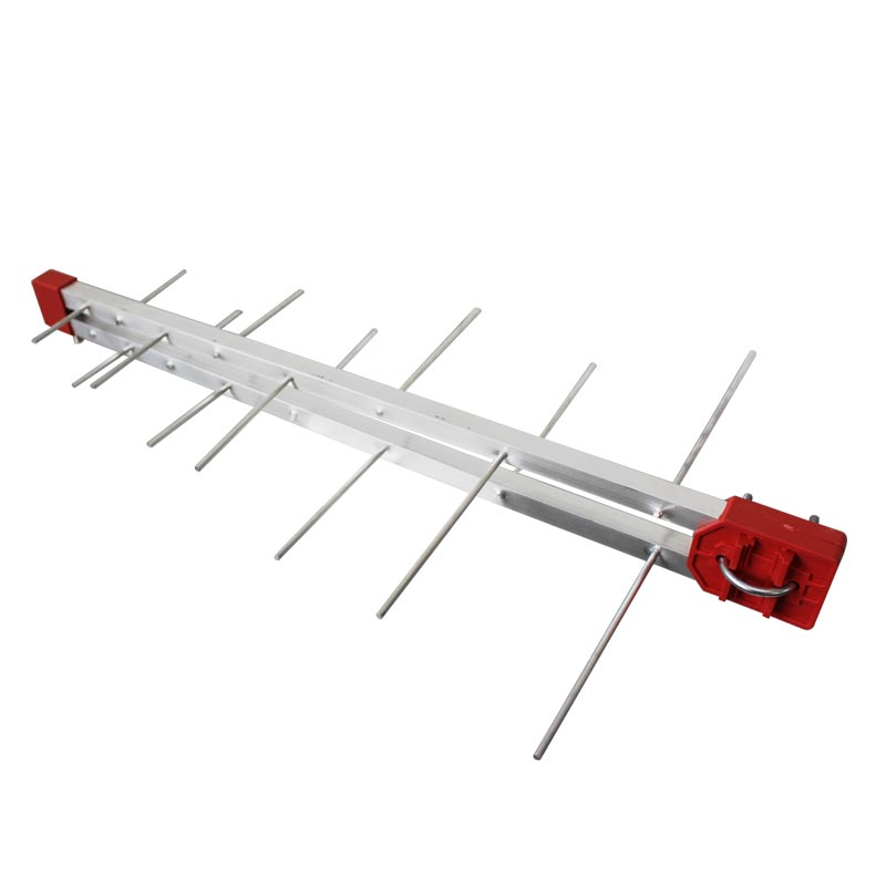 Kit Antena Digital Externa 4K Log 16 Elementos + Conversor Imagevox ADV-ISDBT06