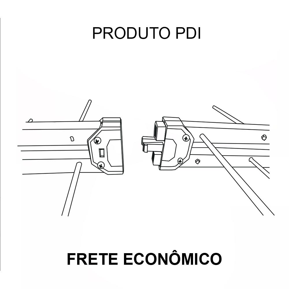 Kit Antena LOG 38 PDI, com cabo 12mts, mastro e divisor 3X1