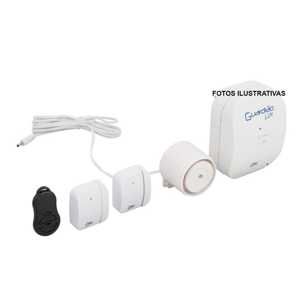 Alarme Guardião kit Segurança Proteção Lite