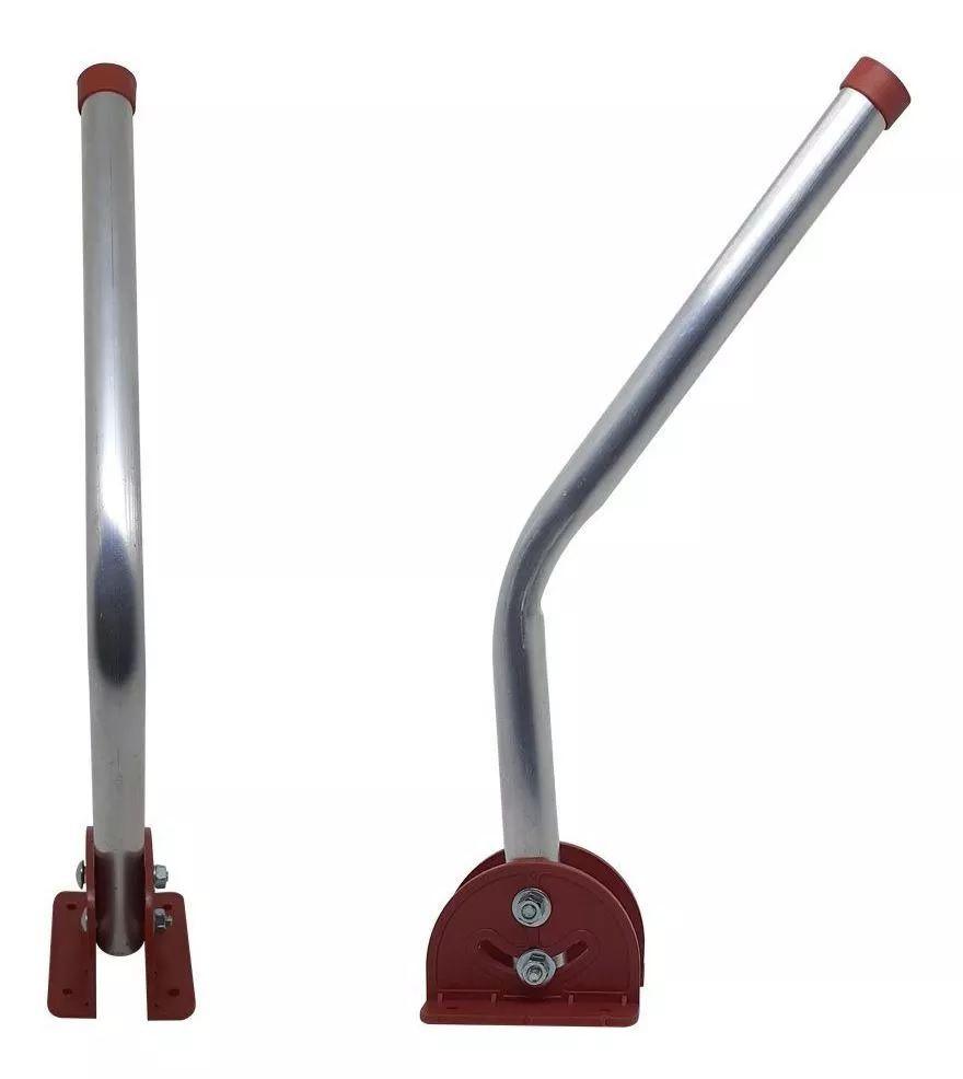 Mastro Articulável 75cm Para Antenas De Parede Laje Capte