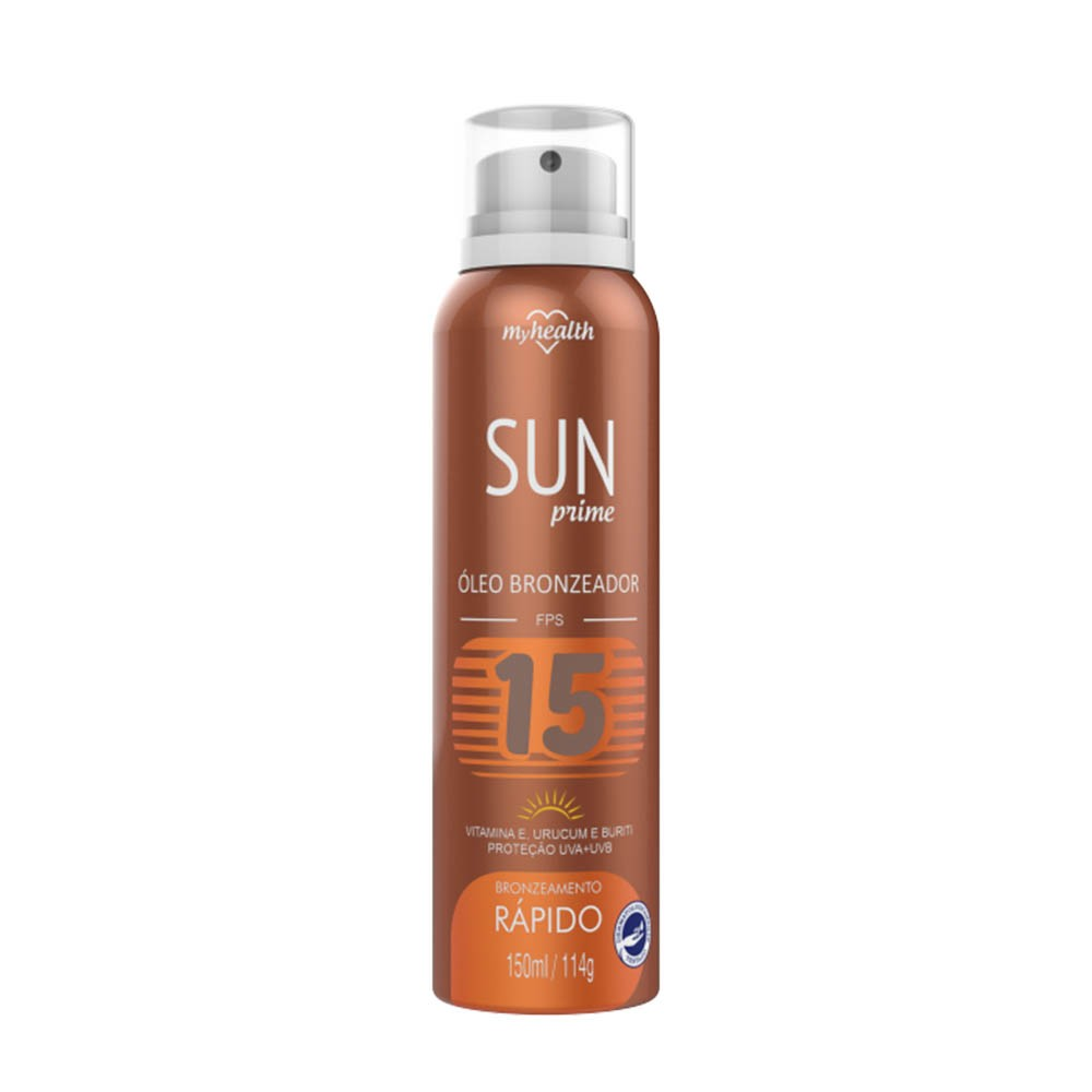 Óleo bronzeador, bronzeamento rápido vitamina e 15 fps