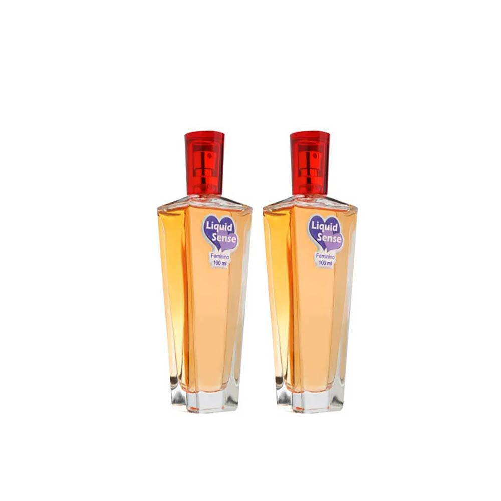 Perfume Liquid Sense - Perfume Do Amor - Gotas Mágicas Duplo