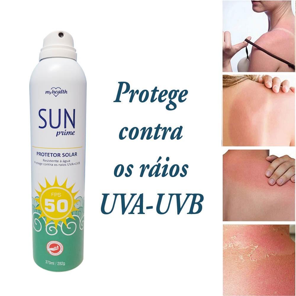 Protetor Solar Sun Prime 2 Unidades FPS 50